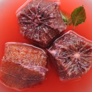 Blood Oranges with Honey