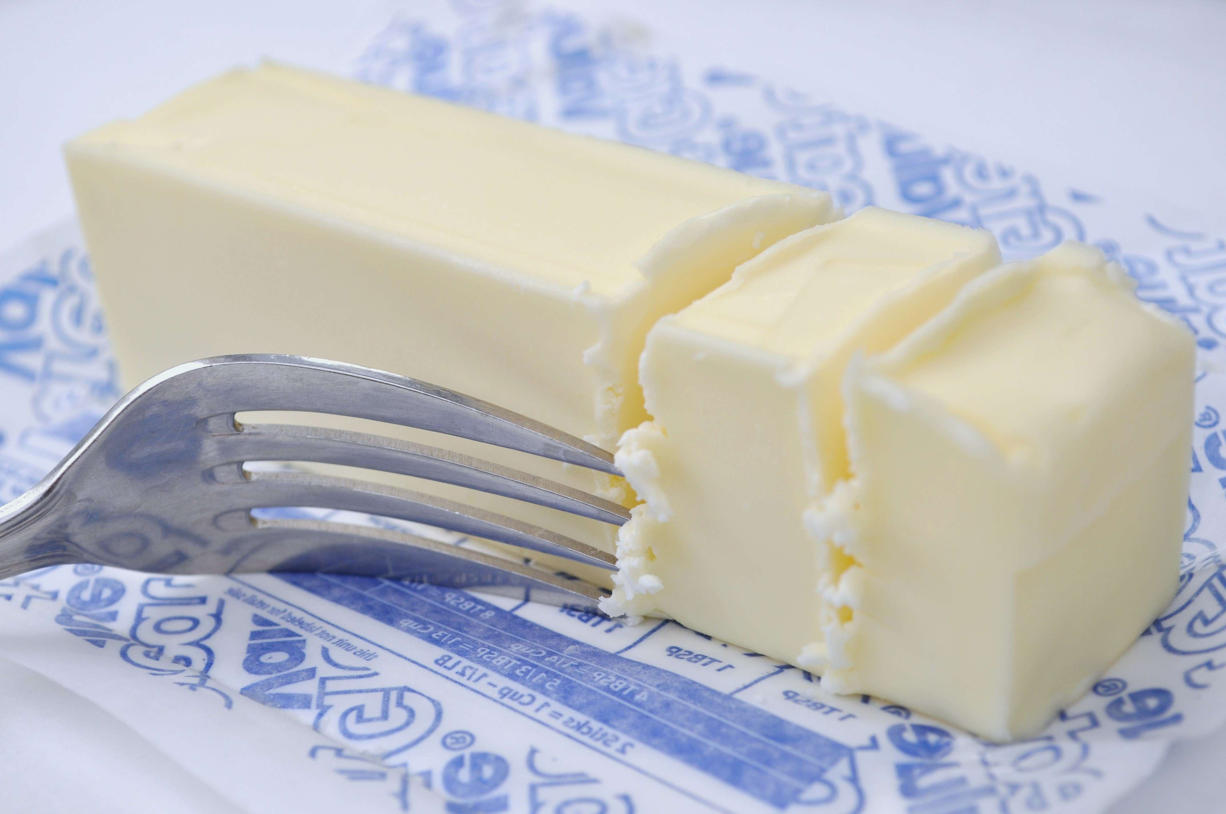 Butter and Fork