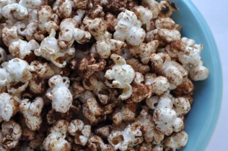 Cocoa Cinnamon Popcorn... again!
